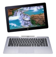 2-in-1 laptop with detachable keyboard