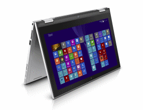 2-in-1 laptop with fold-back keyboard
