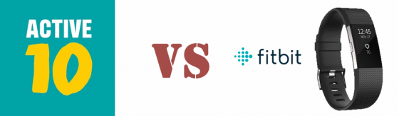 Active 10 vs Fitbit